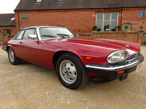 JAGUAR XJS HE AUTO V12 1987 COVERED 73K MILES FROM NEW  For Sale