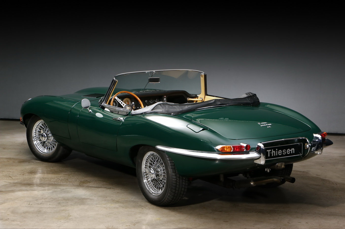 1965 Jaguar E-Type 1 Series 4.2 ltr Roadster For Sale (picture 3 of 6)