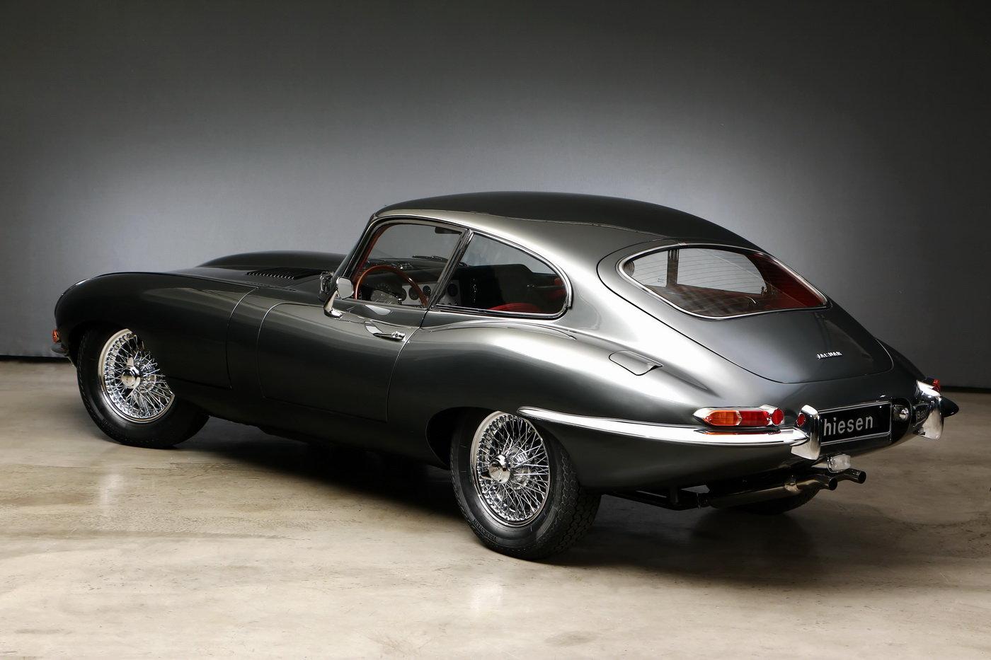 1963 Jaguar E-Type 1. series 3.8 ltr Coupé For Sale (picture 3 of 6)