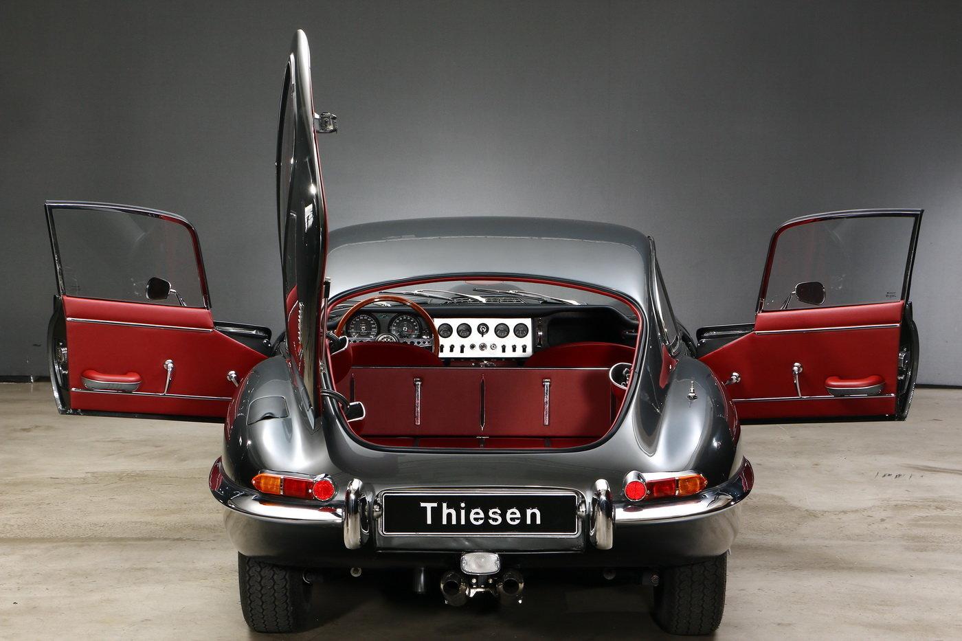1963 Jaguar E-Type 1. series 3.8 ltr Coupé For Sale (picture 4 of 6)