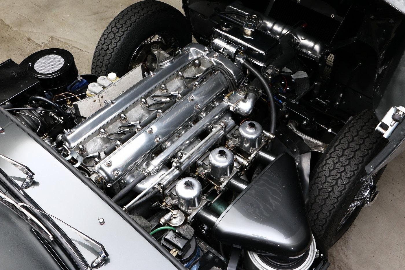 1963 Jaguar E-Type 1. series 3.8 ltr Coupé For Sale (picture 6 of 6)
