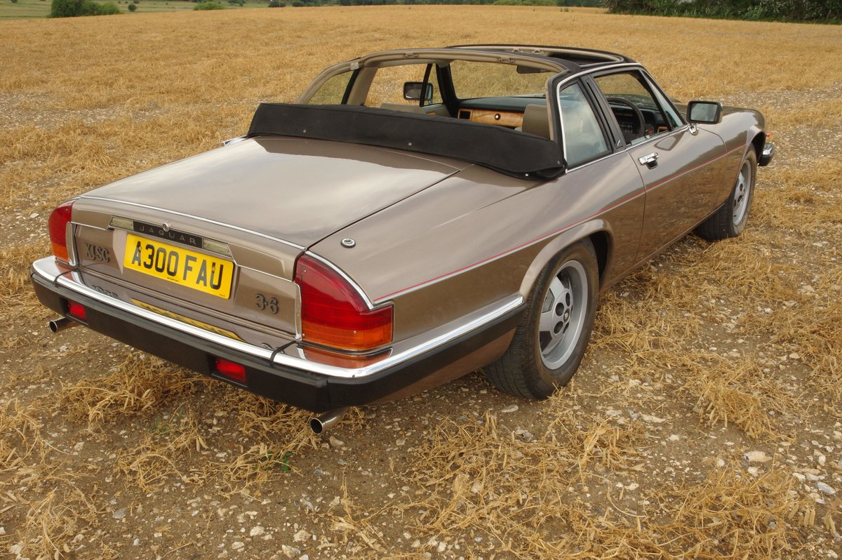 1983 Jaguar XJ- SC 3.6 litre Manual  SOLD (picture 3 of 6)