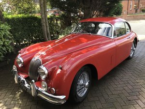 1958 Up graded Jaguar 3.8 XK150 with a spare engine For Sale