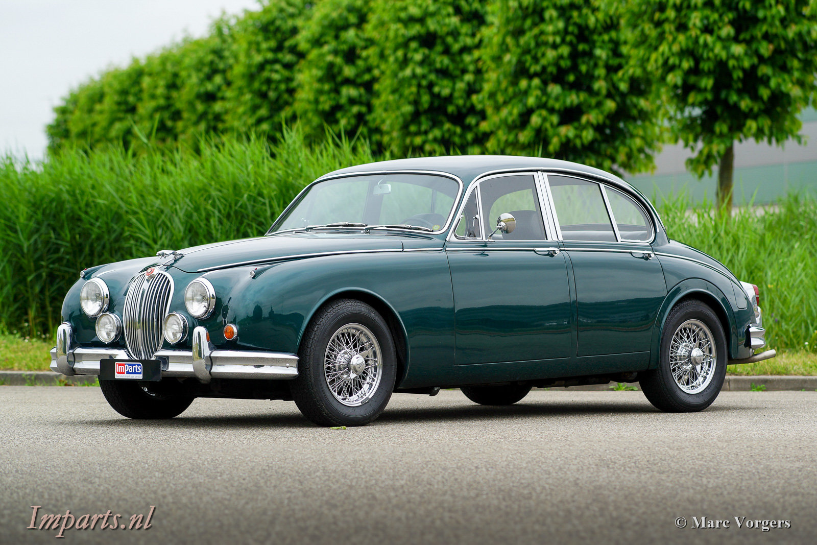 1967 Excellent Jaguar Mk2 3.4 Overdrive LHD For Sale (picture 1 of 6)