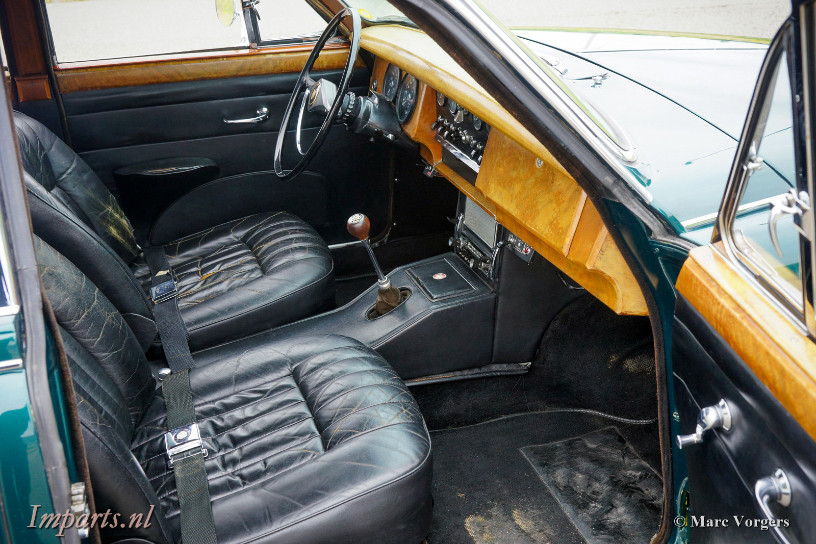 1967 Excellent Jaguar Mk2 3.4 Overdrive LHD For Sale (picture 3 of 6)