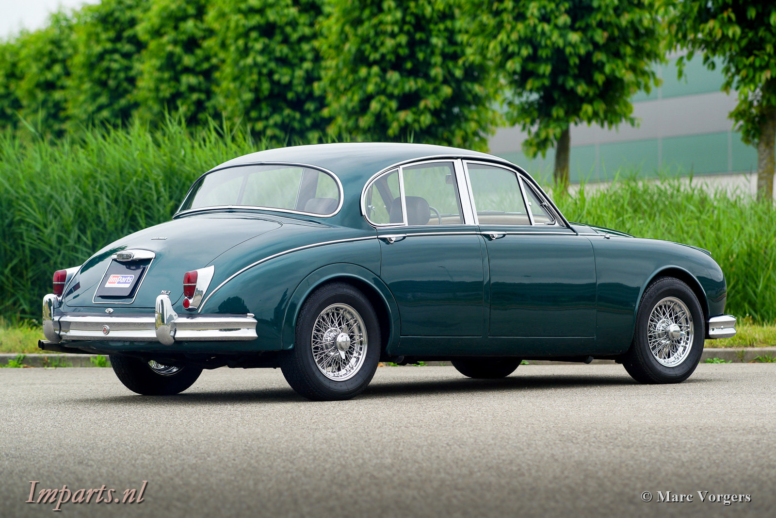 1967 Excellent Jaguar Mk2 3.4 Overdrive LHD For Sale (picture 5 of 6)