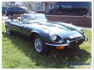 1973 Jaguar E type V12 Roadster  For Sale