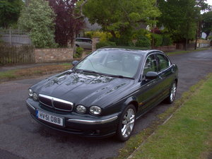 2001 X Type 3 litre manual