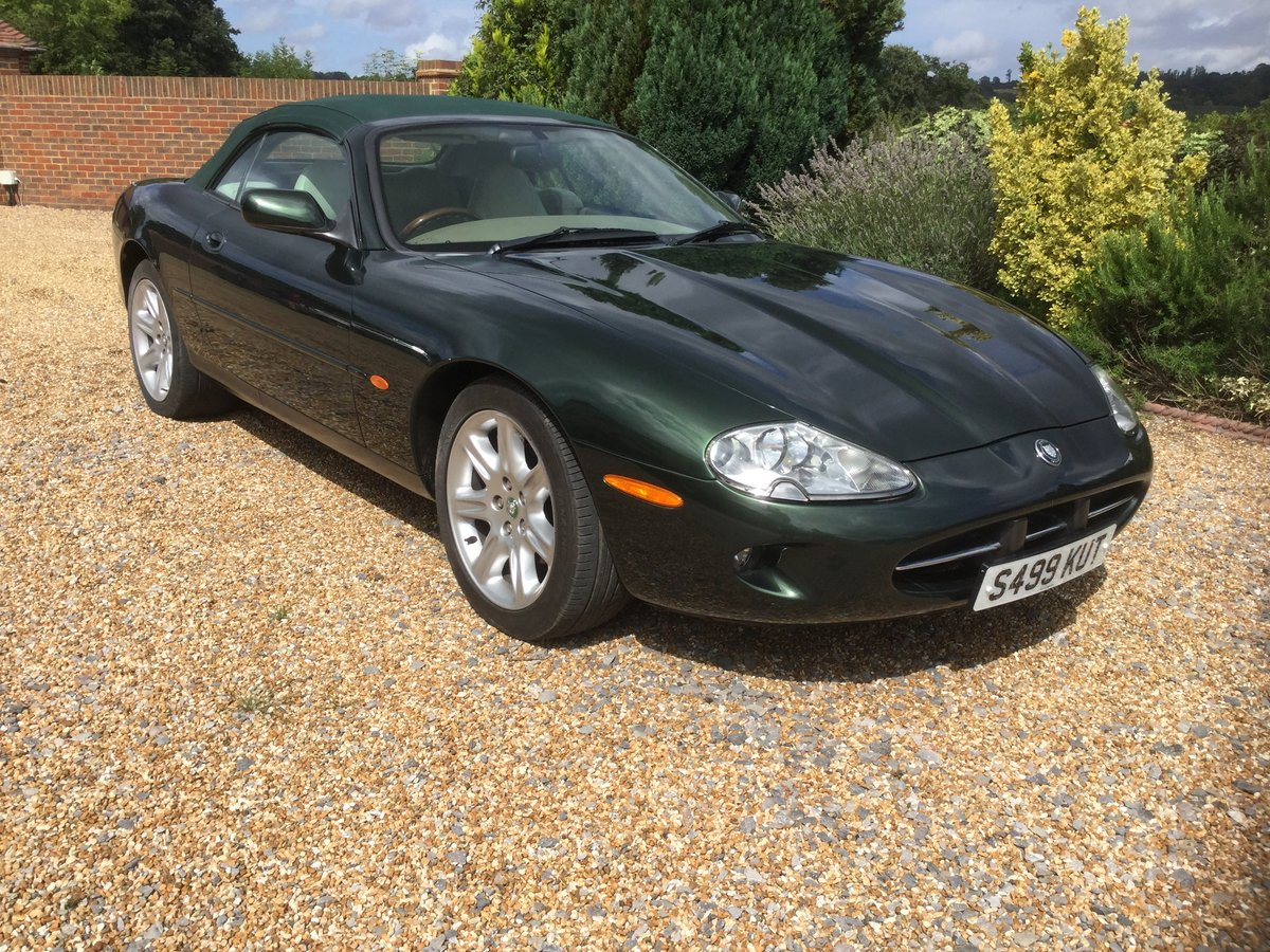 1998 Jaguar XK8 Convertible, 1 owner from New. For Sale (picture 1 of 6)
