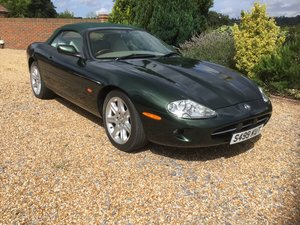 1998 Jaguar XK8 Convertible, 1 owner from New. SOLD