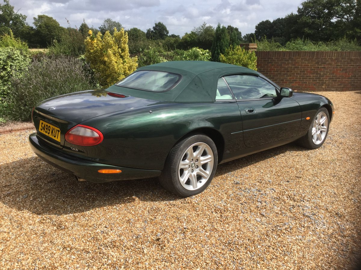 1998 Jaguar XK8 Convertible, 1 owner from New. For Sale (picture 2 of 6)