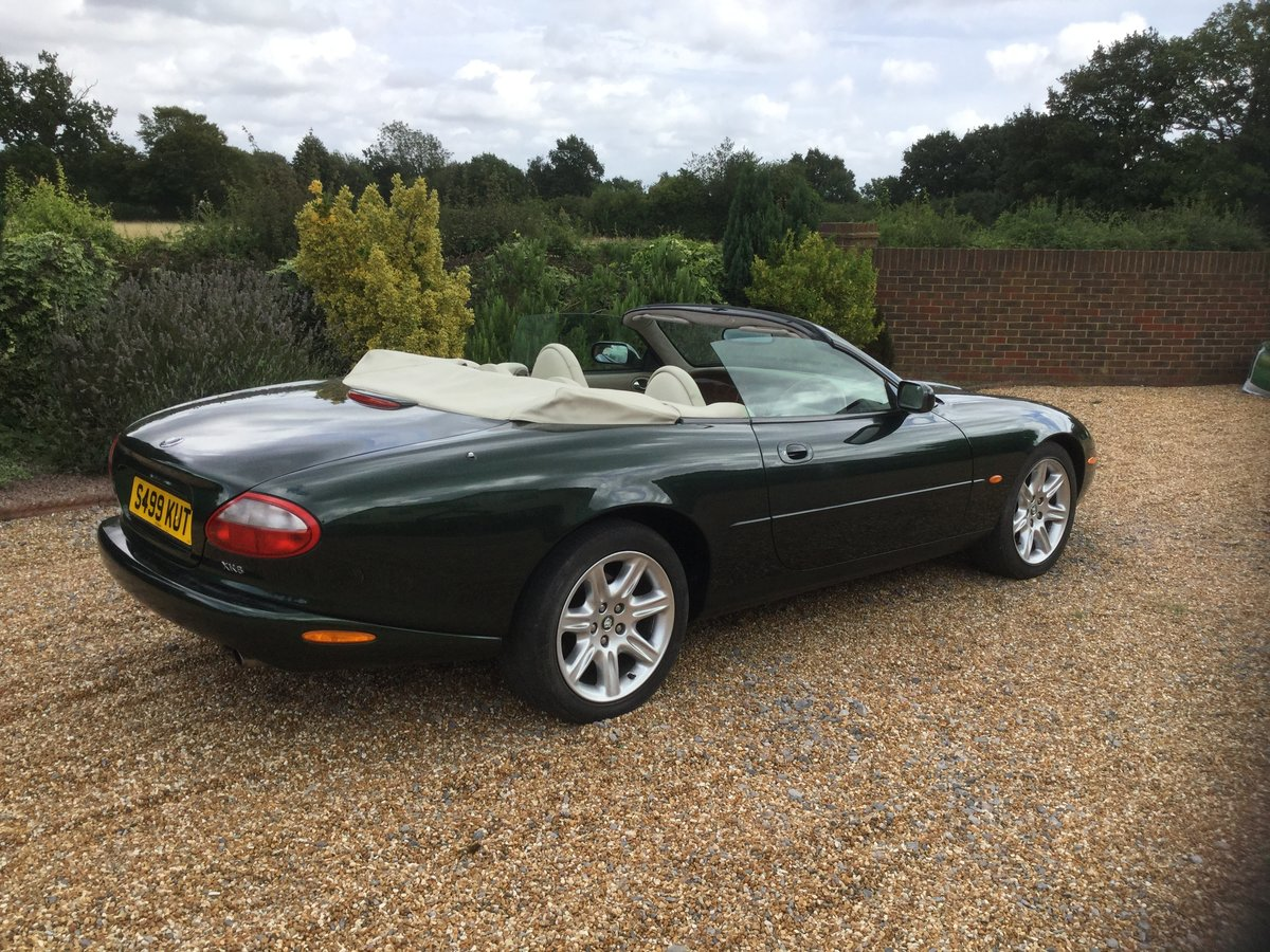 1998 Jaguar XK8 Convertible, 1 owner from New. For Sale (picture 4 of 6)