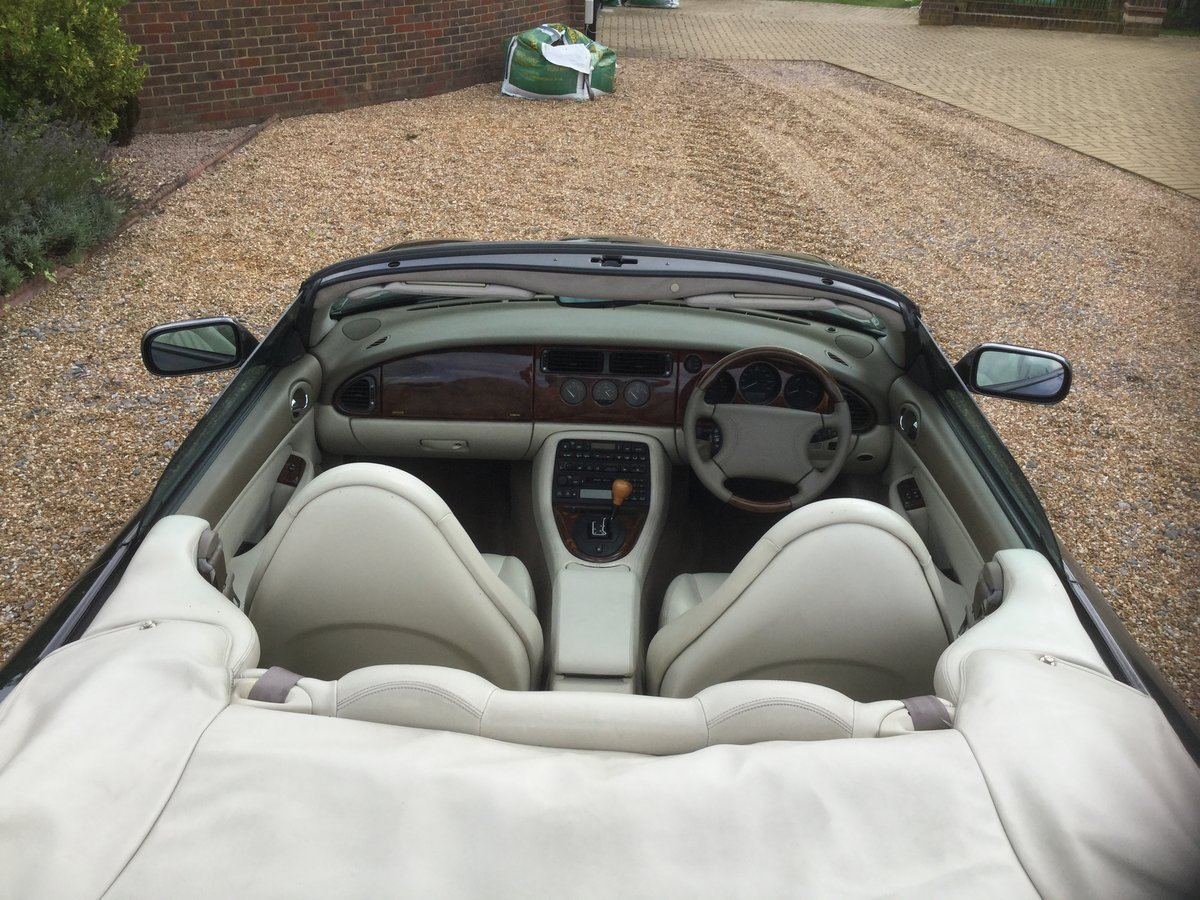 1998 Jaguar XK8 Convertible, 1 owner from New. For Sale (picture 5 of 6)