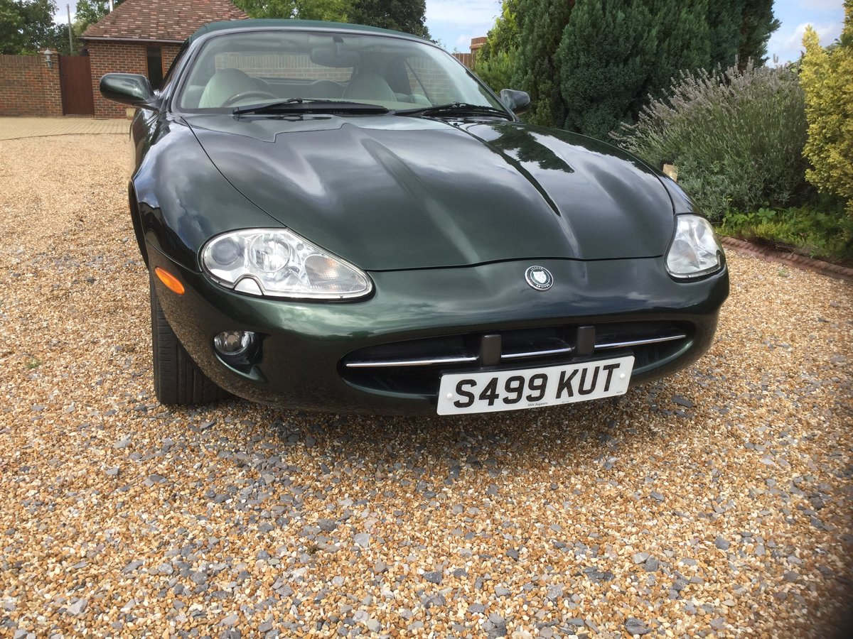 1998 Jaguar XK8 Convertible, 1 owner from New. For Sale (picture 6 of 6)