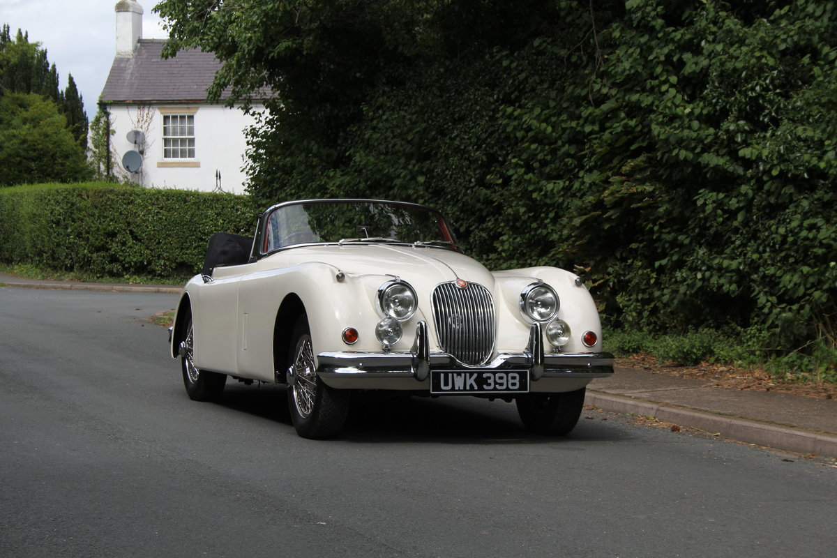 1958 Jaguar XK150 DHC Automatic - Matching No's, Only 31k miles For Sale (picture 1 of 19)