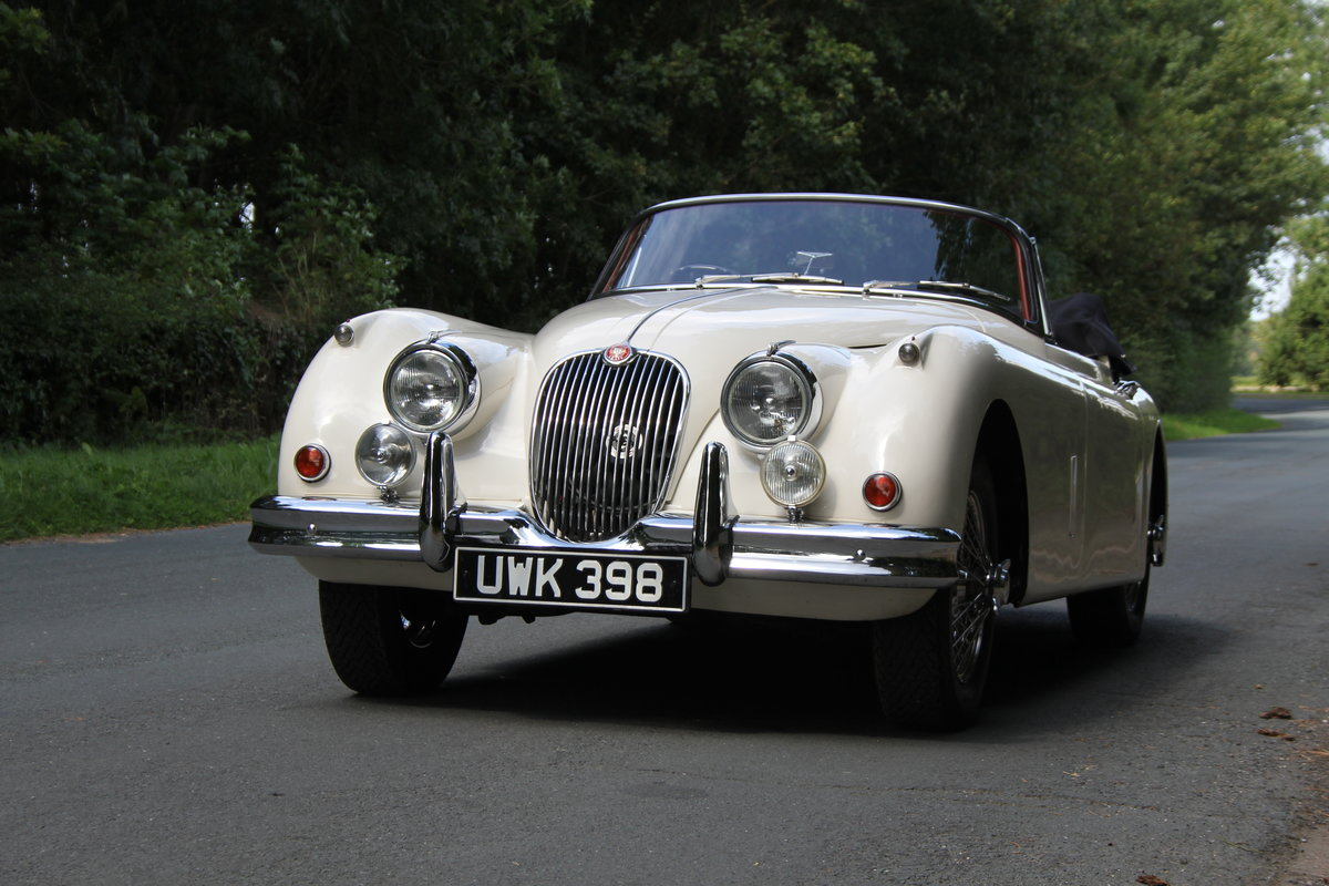 1958 Jaguar XK150 DHC Automatic - Matching No's, Only 31k miles For Sale (picture 3 of 19)