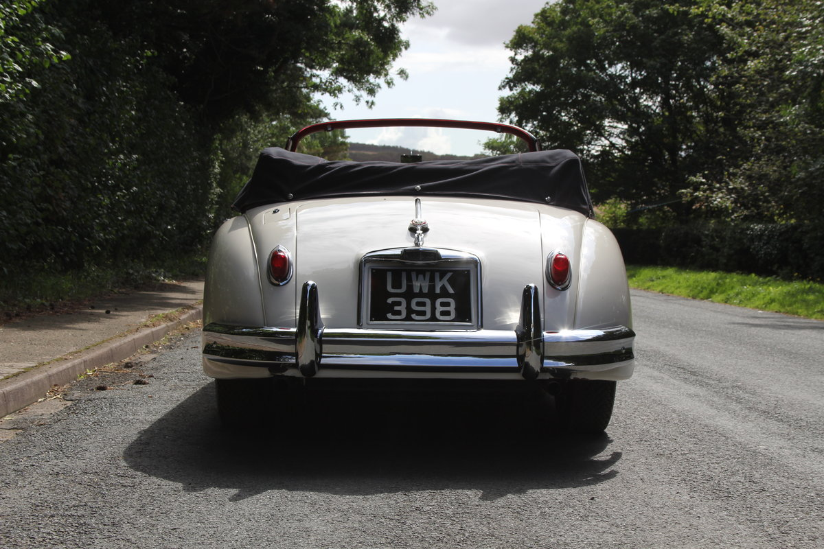 1958 Jaguar XK150 DHC Automatic - Matching No's, Only 31k miles For Sale (picture 5 of 19)