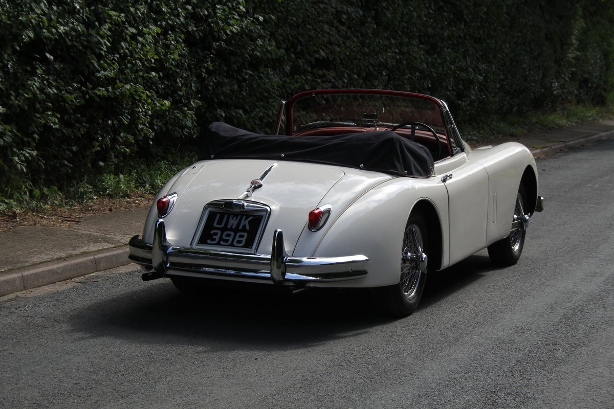 1958 Jaguar XK150 DHC Automatic - Matching No's, Only 31k miles For Sale (picture 6 of 19)