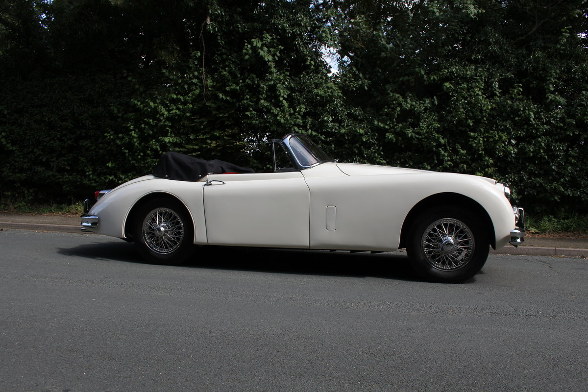 1958 Jaguar XK150 DHC Automatic - Matching No's, Only 31k miles For Sale (picture 7 of 19)