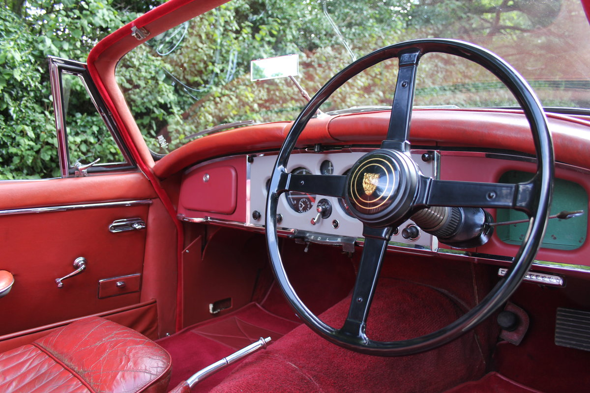 1958 Jaguar XK150 DHC Automatic - Matching No's, Only 31k miles For Sale (picture 8 of 19)