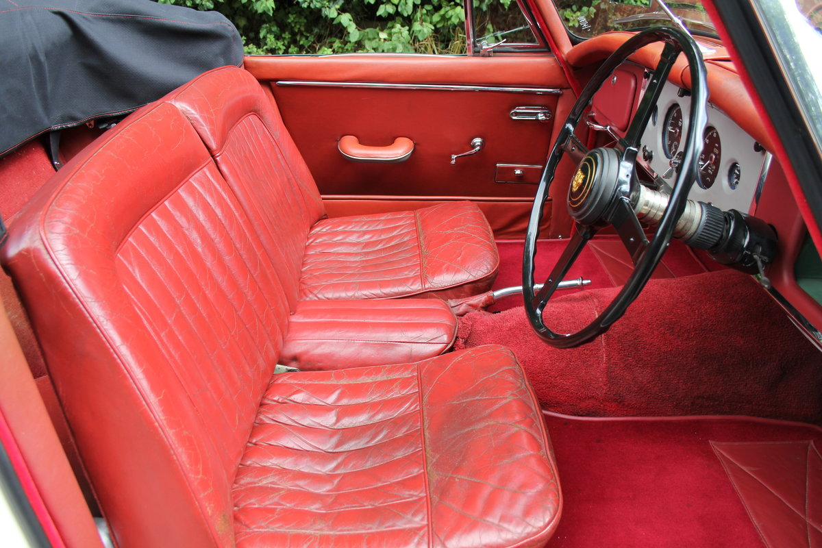 1958 Jaguar XK150 DHC Automatic - Matching No's, Only 31k miles For Sale (picture 9 of 19)