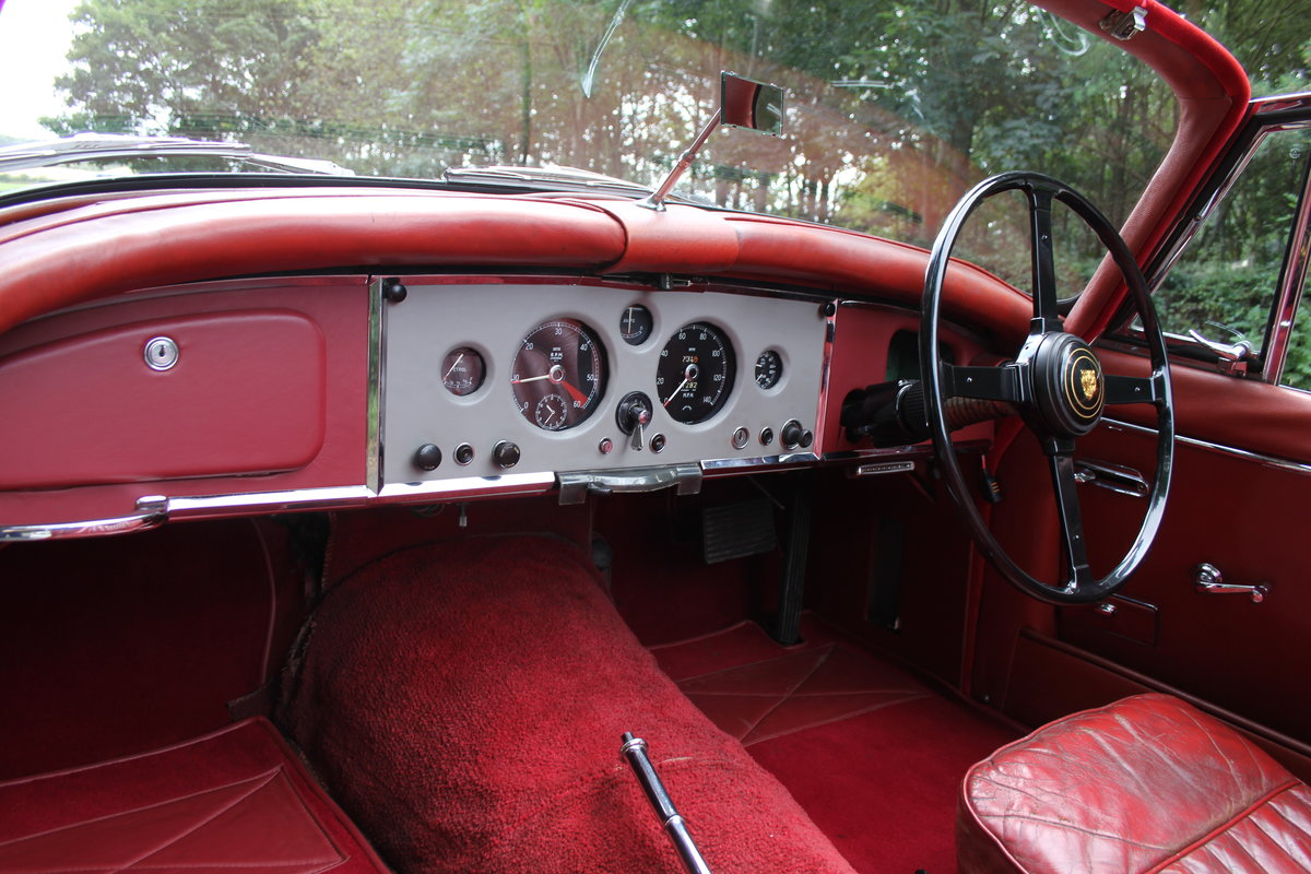 1958 Jaguar XK150 DHC Automatic - Matching No's, Only 31k miles For Sale (picture 11 of 19)