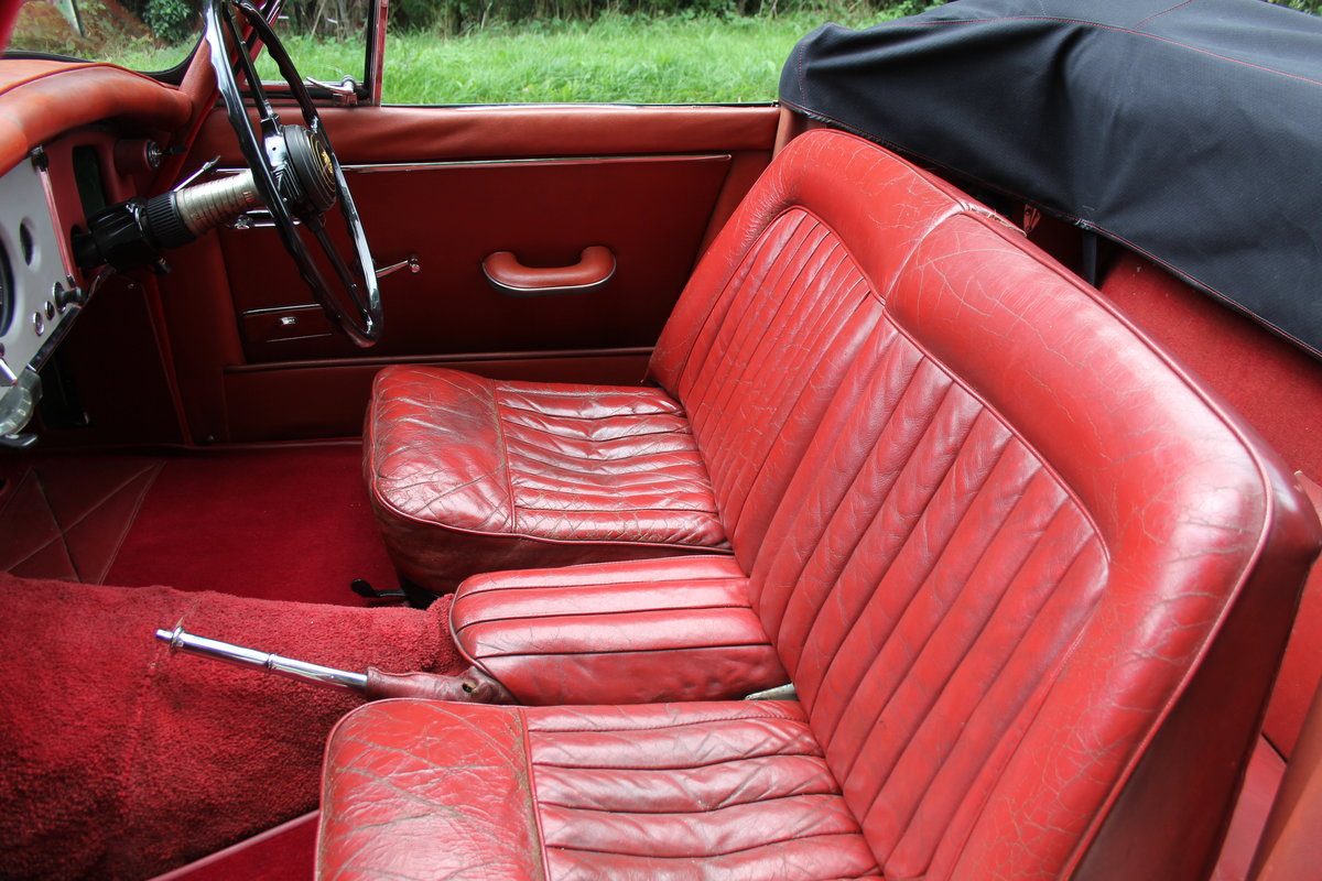 1958 Jaguar XK150 DHC Automatic - Matching No's, Only 31k miles For Sale (picture 13 of 19)