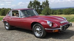 1971 JAGUAR E-TYPE SERIES III 2+2 COUPÉ For Sale by Auction