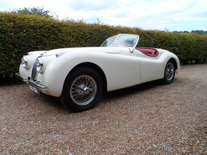 1954 Jaguar XK120 SE  Roadster SOLD