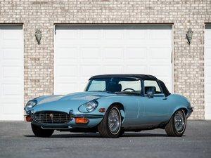1972 Jaguar E-Type Series 3 V-12 Roadster  For Sale by Auction