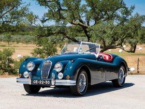 1955 Jaguar XK 140 SE Roadster  For Sale by Auction
