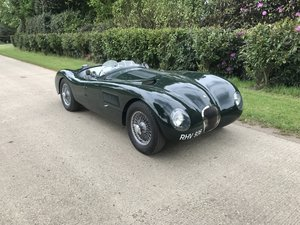 Jaguar C type Le Mans replica by TWR