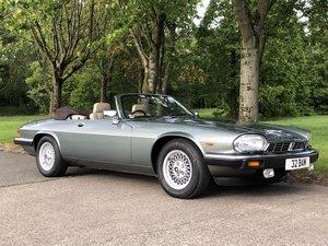 1990 Jaguar XJS V12 5.3 Convertible For Sale