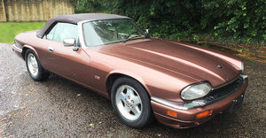 1994 JAGUAR XJS 4.0-LITRE 2+2 CONVERTIBLE For Sale by Auction