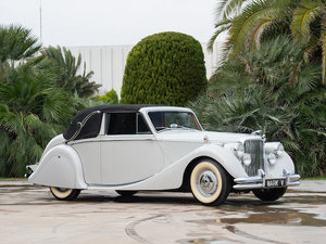 1951 JAGUAR MARK V 3½-LITRE DROPHEAD COUPÉ For Sale by Auction