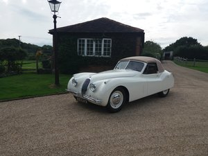 1954 XK120DHC  Left-hand drive