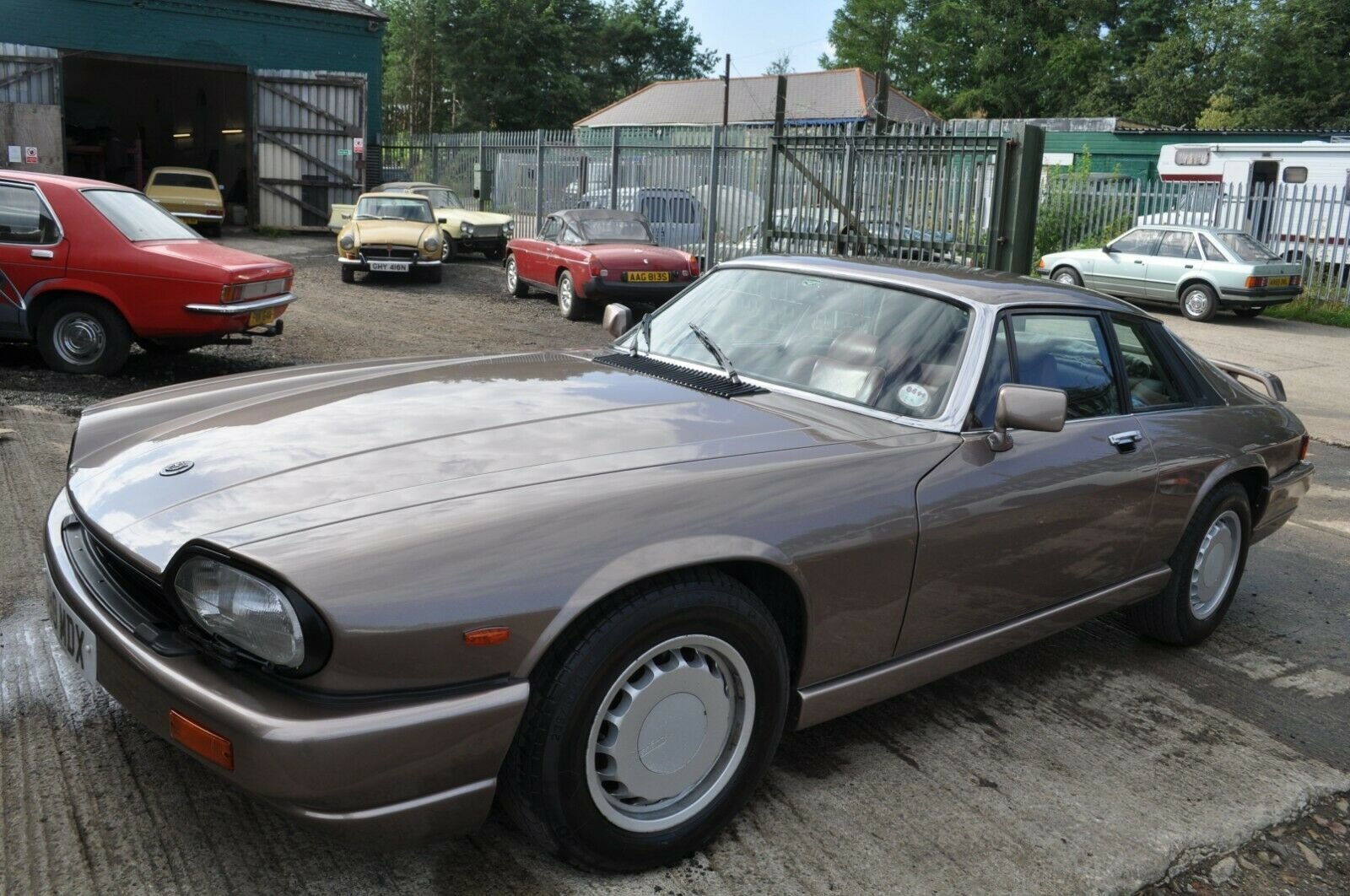 1984 JAGUAR XJS V12 5.3 HE VERY RARE GOOD CONDITION WITH MOT TWR For Sale (picture 2 of 6)