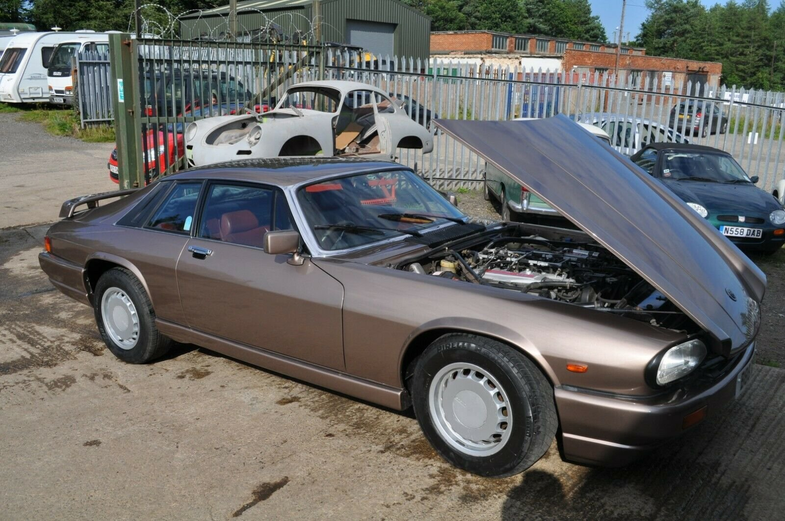 1984 JAGUAR XJS V12 5.3 HE VERY RARE GOOD CONDITION WITH MOT TWR For Sale (picture 3 of 6)