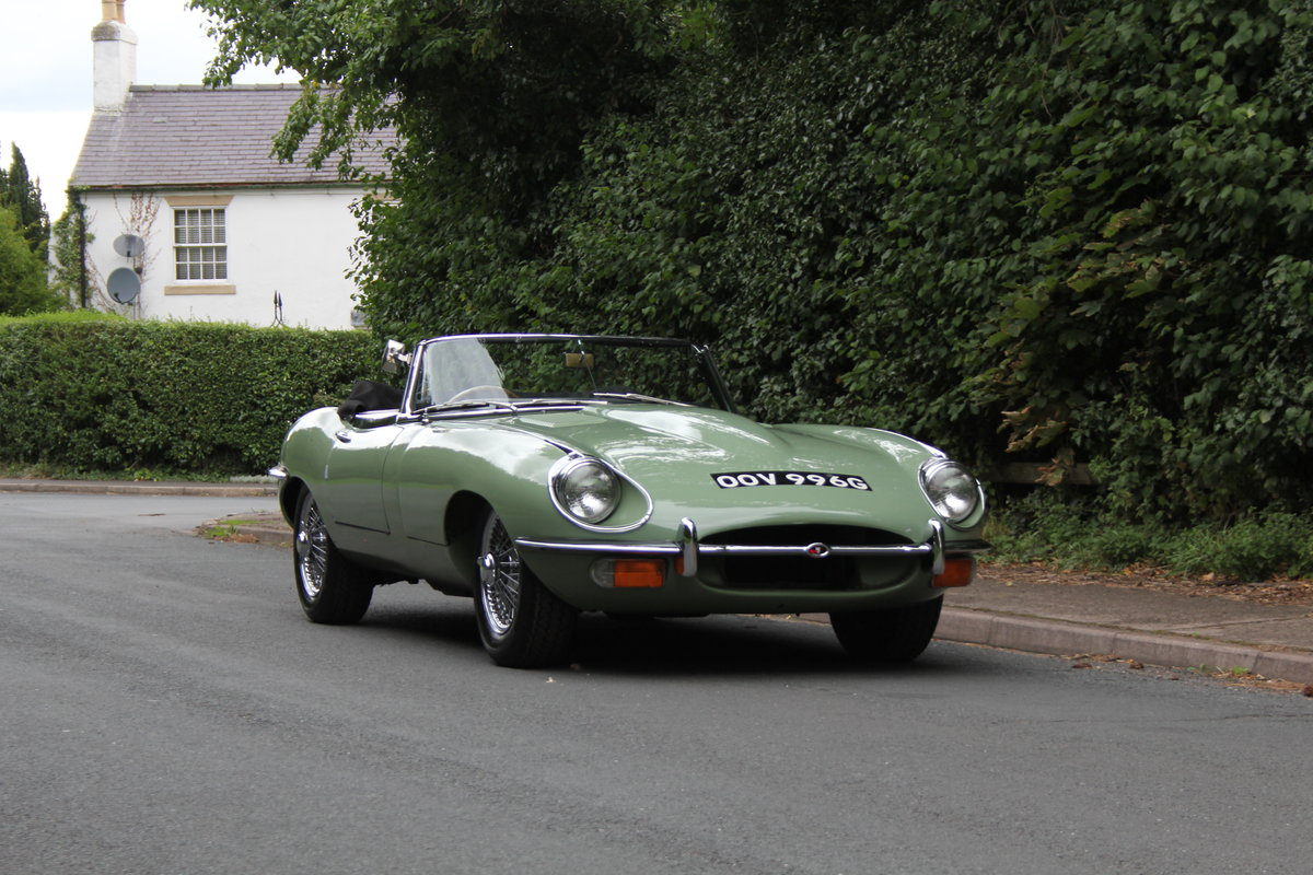 1968 Jaguar E-Type Series II 4.2 Roadster - Matching No's, Uk car For Sale (picture 1 of 24)