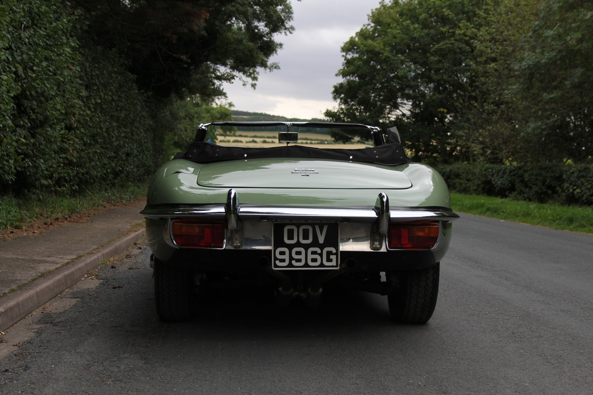 1968 Jaguar E-Type Series II 4.2 Roadster - Matching No's, Uk car For Sale (picture 5 of 24)