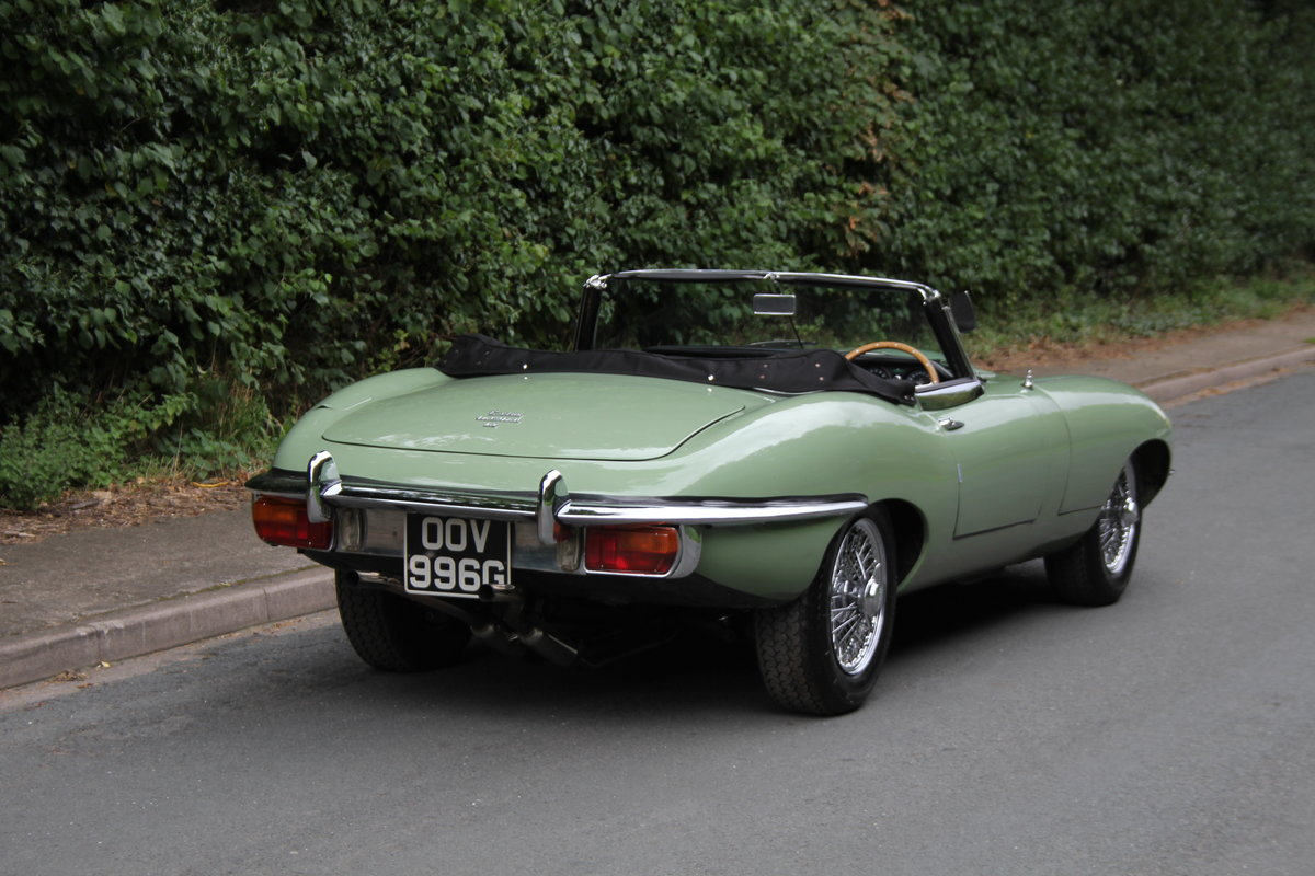 1968 Jaguar E-Type Series II 4.2 Roadster - Matching No's, Uk car For Sale (picture 6 of 24)
