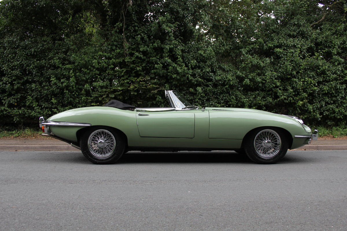 1968 Jaguar E-Type Series II 4.2 Roadster - Matching No's, Uk car For Sale (picture 7 of 24)