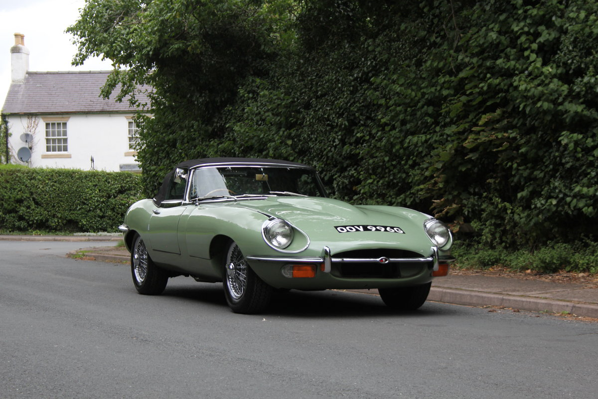 1968 Jaguar E-Type Series II 4.2 Roadster - Matching No's, Uk car For Sale (picture 8 of 24)