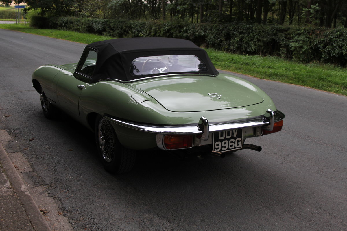 1968 Jaguar E-Type Series II 4.2 Roadster - Matching No's, Uk car For Sale (picture 9 of 24)