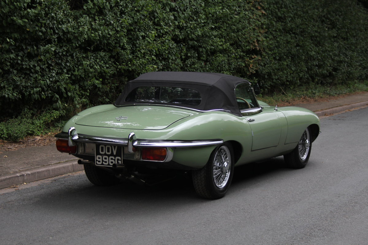 1968 Jaguar E-Type Series II 4.2 Roadster - Matching No's, Uk car For Sale (picture 10 of 24)
