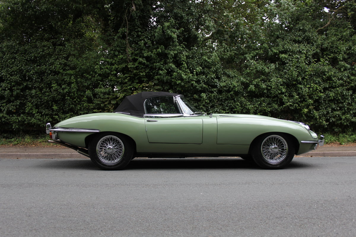 1968 Jaguar E-Type Series II 4.2 Roadster - Matching No's, Uk car For Sale (picture 11 of 24)