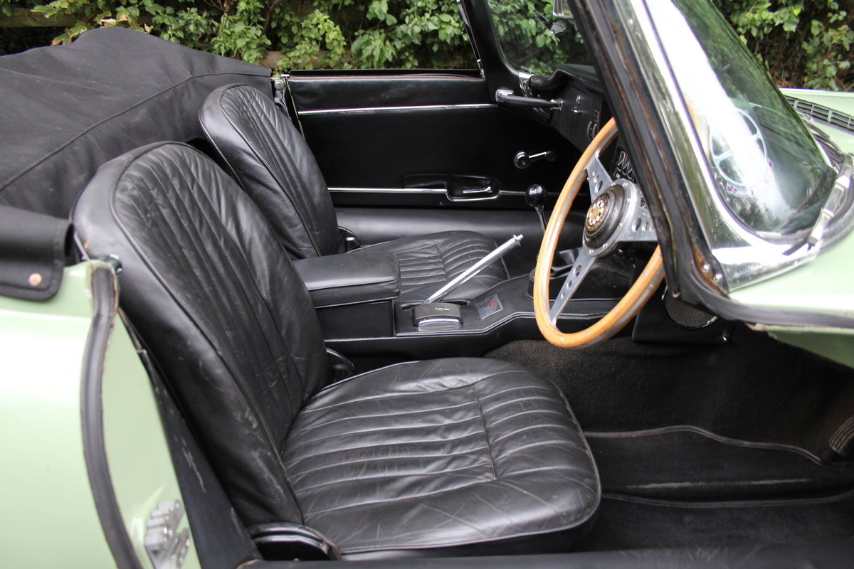 1968 Jaguar E-Type Series II 4.2 Roadster - Matching No's, Uk car For Sale (picture 13 of 24)