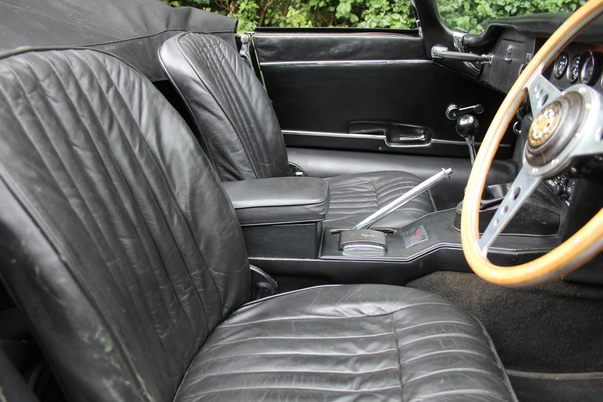 1968 Jaguar E-Type Series II 4.2 Roadster - Matching No's, Uk car For Sale (picture 14 of 24)