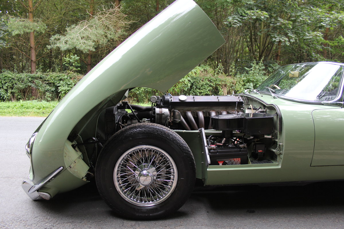 1968 Jaguar E-Type Series II 4.2 Roadster - Matching No's, Uk car For Sale (picture 21 of 24)