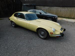 1973 JAGUAR E TYPE V12
